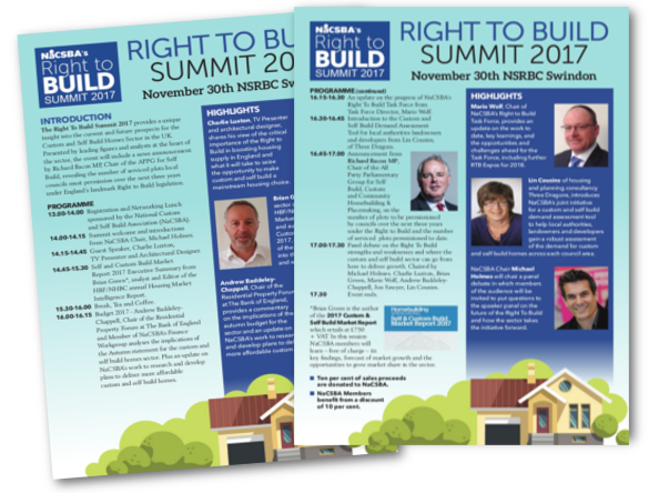 Right To Build Summit 2017
