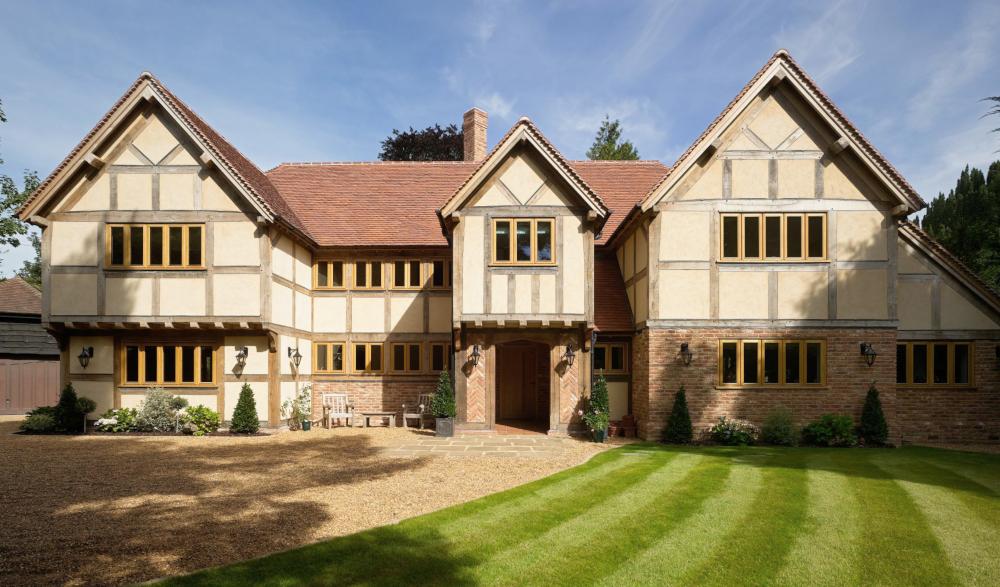 Border Oak creates bespoke oak-frame homes