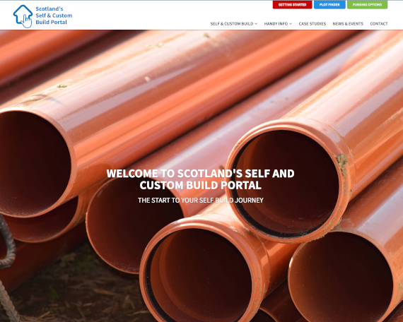 Scotland Self Build Portal