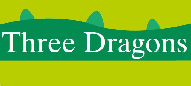 three dragons logo