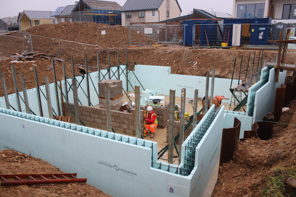 The Nudura ICF basement