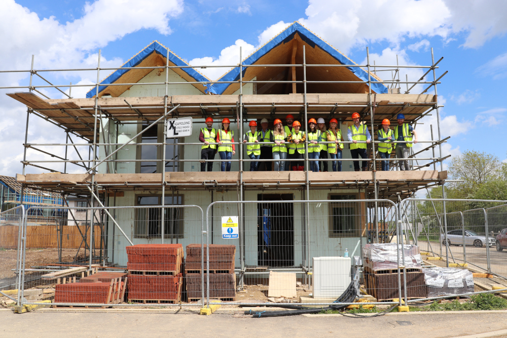Build It Education House team visit