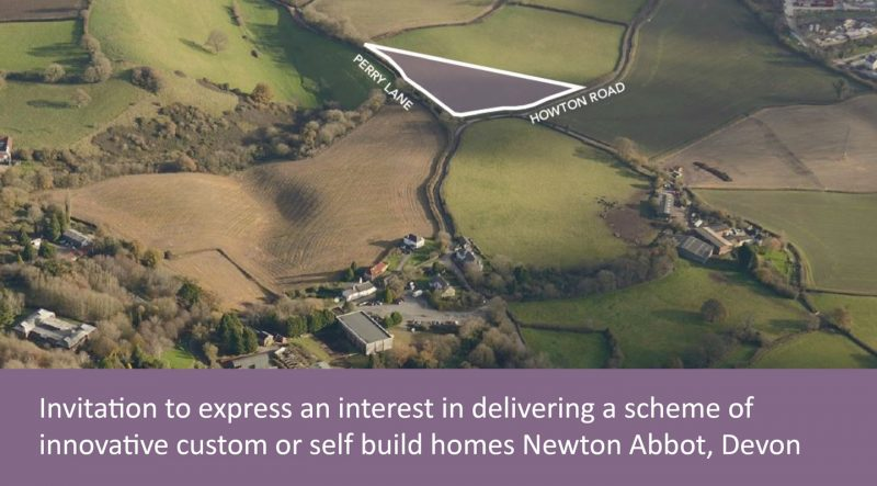 custom build site at Newton Abbot