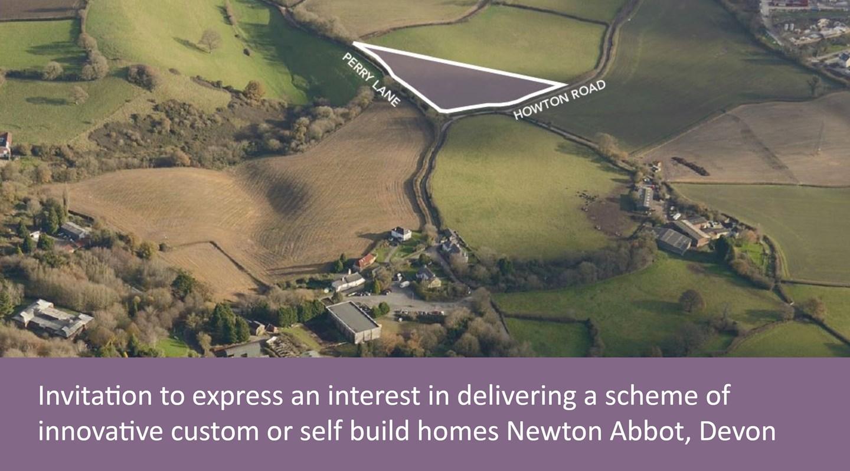 custom build site at Newton Abbot