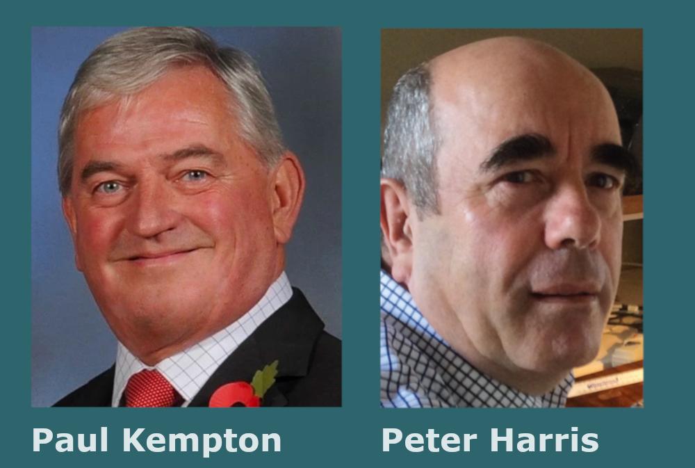 Paul Kempton and Peter Harris